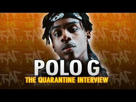 "Polo G On ""3 Headed GOAT"" w/ Lil Baby & Lil Durk And The Making Of ""Pop Out"" w/ Lil Tjay For 'Rap TV'"