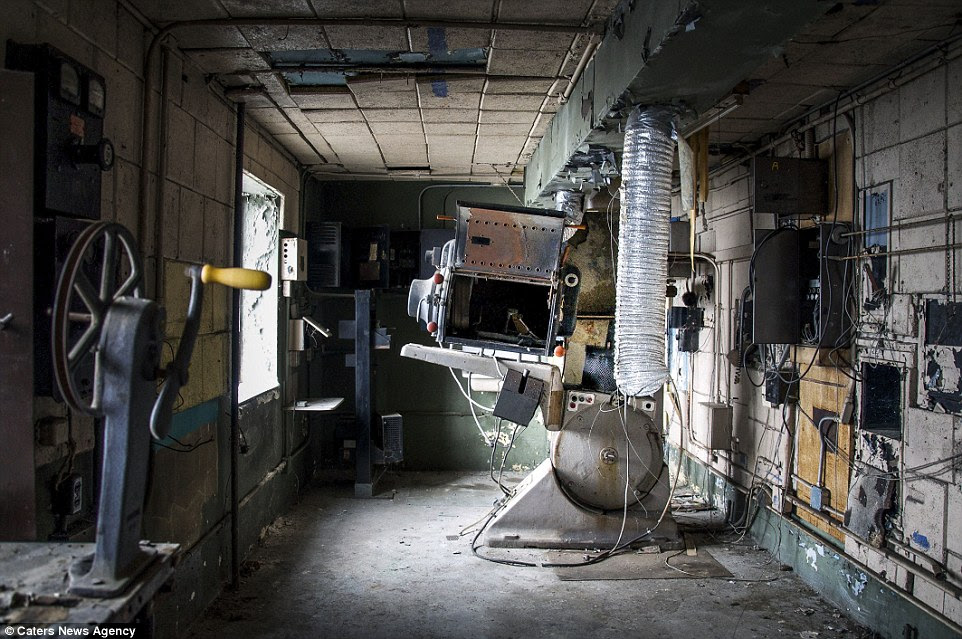 Dated equipment:Most of the building's machinery has been languishing for years since the venue's unfortunate closure