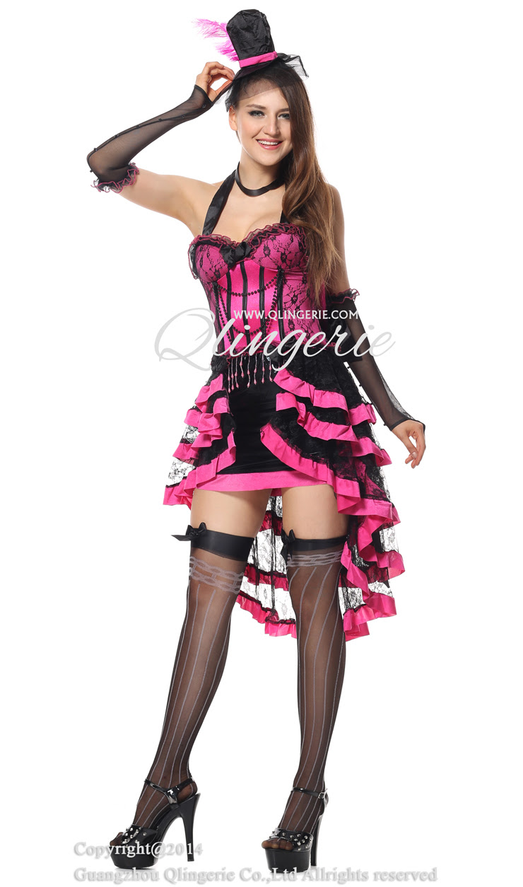 deluxe burlesque beauty costume n6599