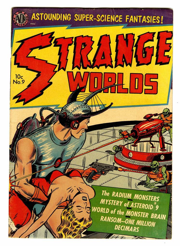 Strange Worlds #9 (Avon)