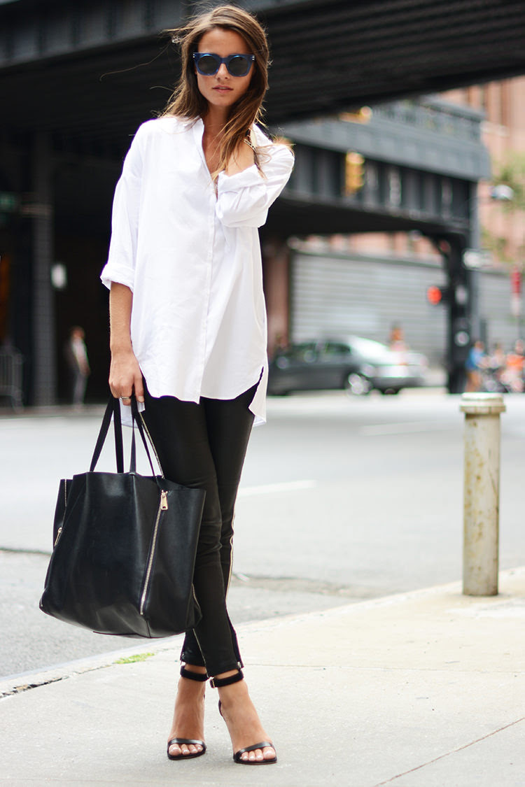 casual chic black  white outfit for summer  pretty designs