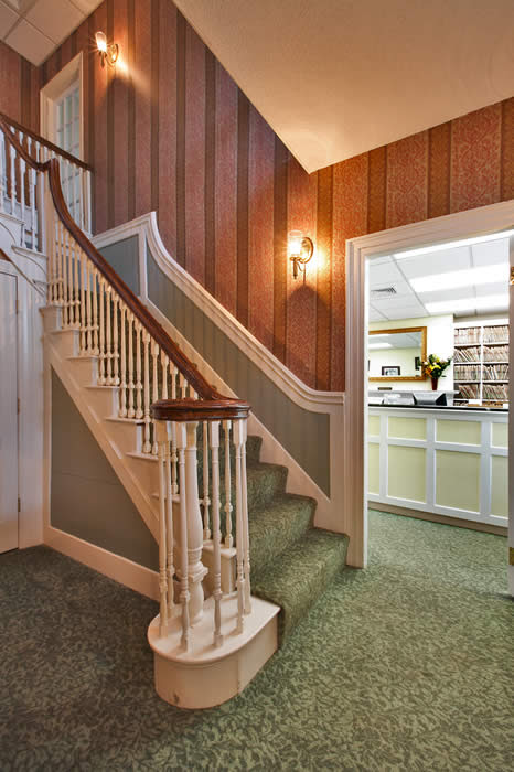 Fx Design Inc Historical Dental Office Waiting Room And Foyer