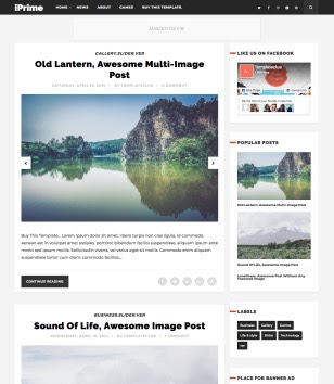 iPrime Blogger Templates