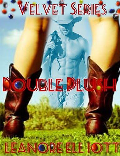 Double Plush Velvet BBW Western Romance (Velvet Series) by Leanore Elliott