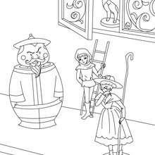 Dibujos Para Colorear El Duende De La Tienda Eshellokidscom