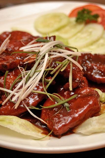 Fatty Weng Baked Pork Ribs - Da Dong Restaurant