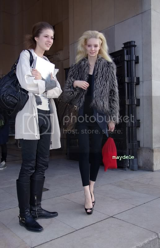 Melissa Tammerijn Christian Louboutin shoes Fendi bag