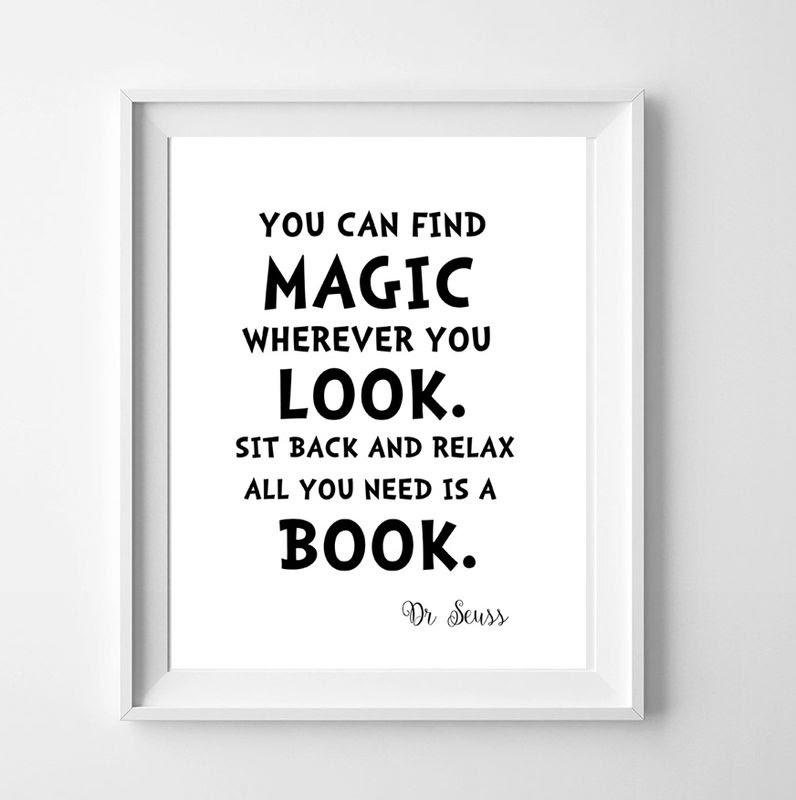 Dr Seuss Quote All You Need Is A Book Dickens Ink