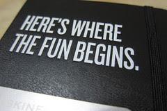 Here's where the fun begins