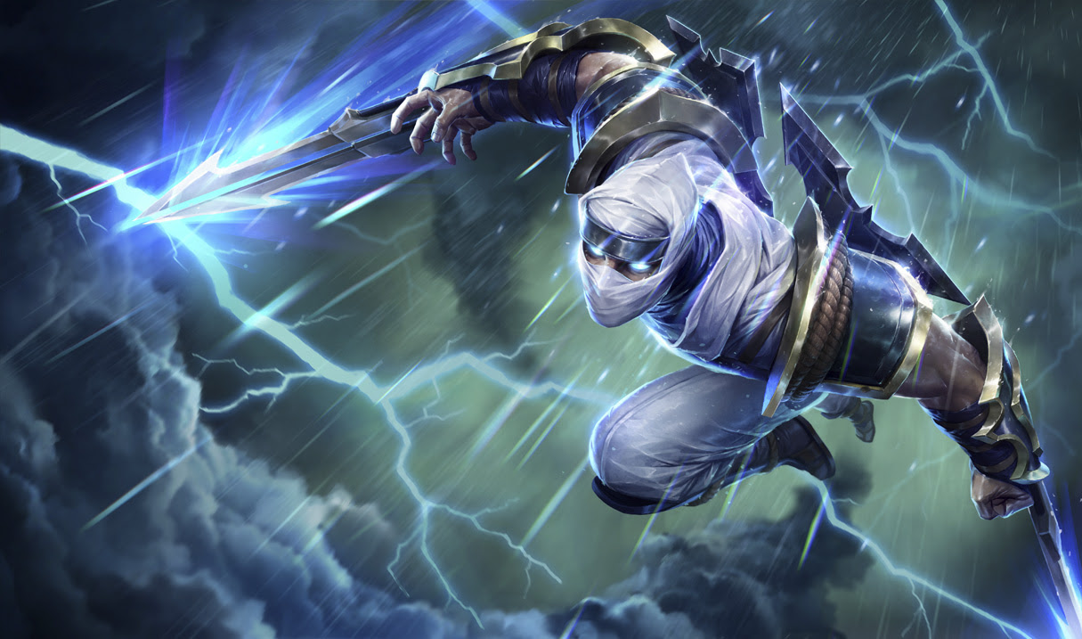 Shockblade Zed Skin League Of Legends Wallpapers