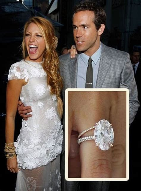 Blake Lively's Engagement Ring: Get the Look   EverAfterGuide