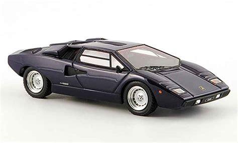 Lamborghini Countach LP 400 blau 1978 Look Smart modellauto 1/43   Kaufen/Verkauf modellauto