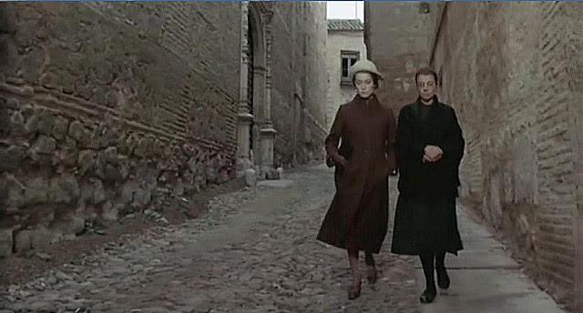 "Calle de San Clemente, Toledo, en 1969 (Captura de ""Tristana"" de Buñuel)"