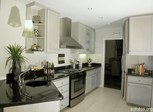 Cozinhas planejadas de apartamento