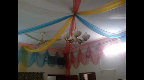 Home Decoration On Wedding Ceremony In Lahore   YouTube