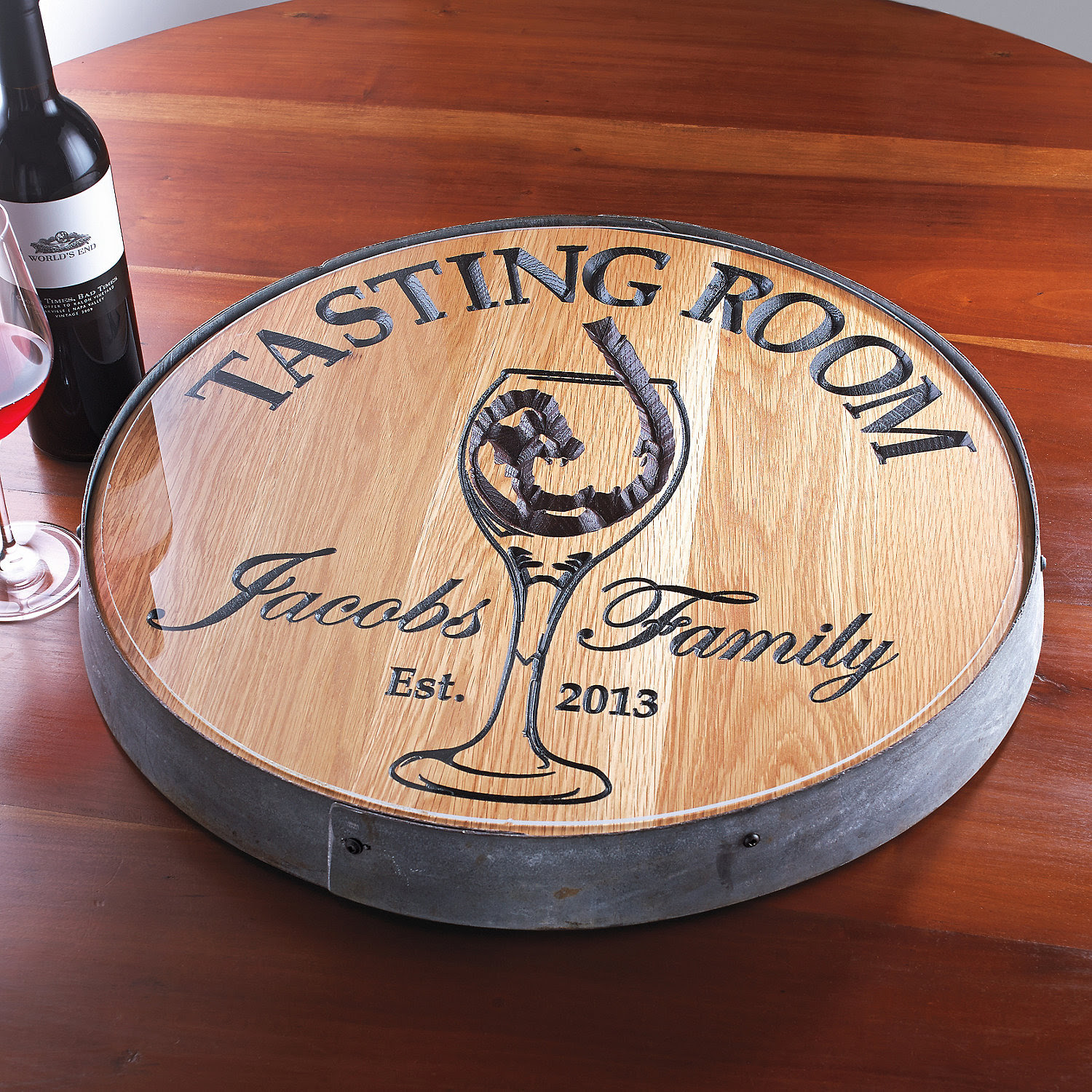 Kitchen Dining Sets Amazing Wine Barrel Lazy Susan For Furniture