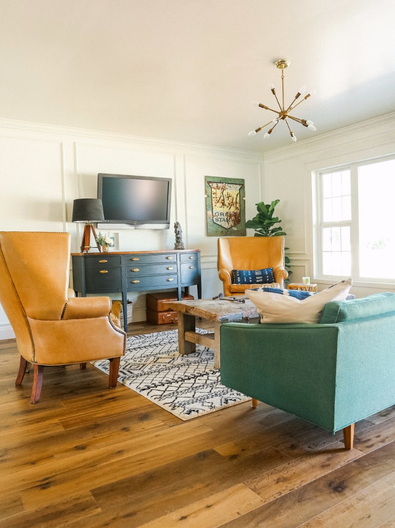 How To Create a Eclectic Living Room
