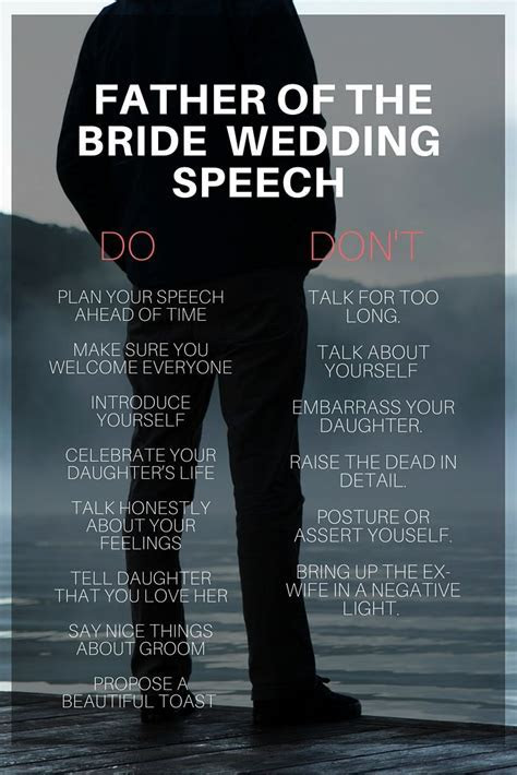 father of bride speech do and dont   Wedding Planning Tips