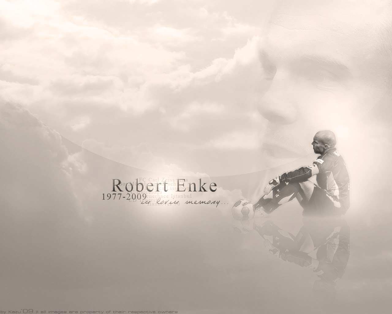 You Ll Never Walk Alone Robert Enke World Soccer Talk