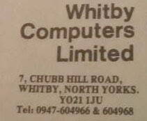 Logo Whitby Computer Limited
