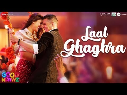 लाल घघरा / Laal Ghaghra Free Song Lyrics – Good Newwz