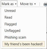 my friends been hacked-hotmail