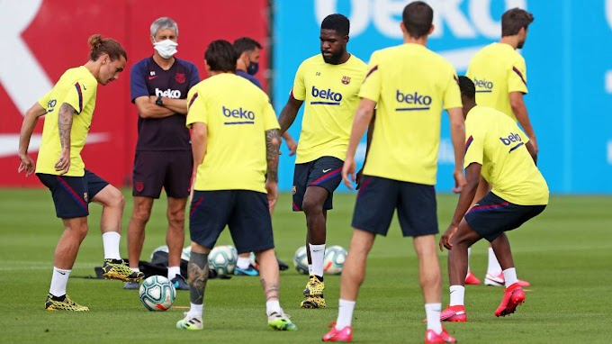 Five Barcelona players and two members of the team's coaching staff 'tested positive for Coronavirus' but the club kept the results 'hidden'