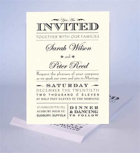 wedding invite wording casual wedding invitations