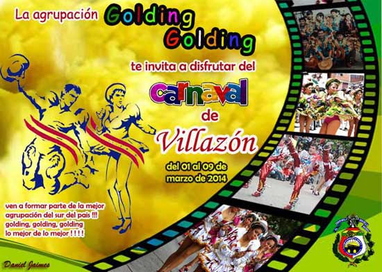Afiche Golding Golding 2014