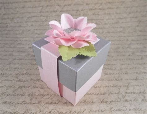 Check out Pink and Silver Grey Gift Boxes, Shower Favor