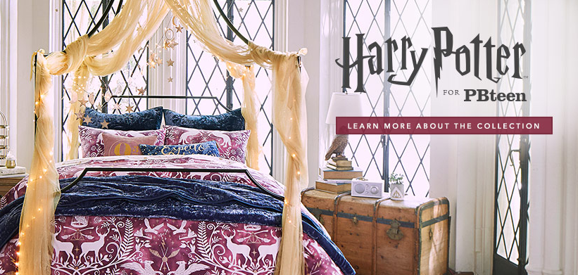 Harry Potter Pottery Barn Teen Code