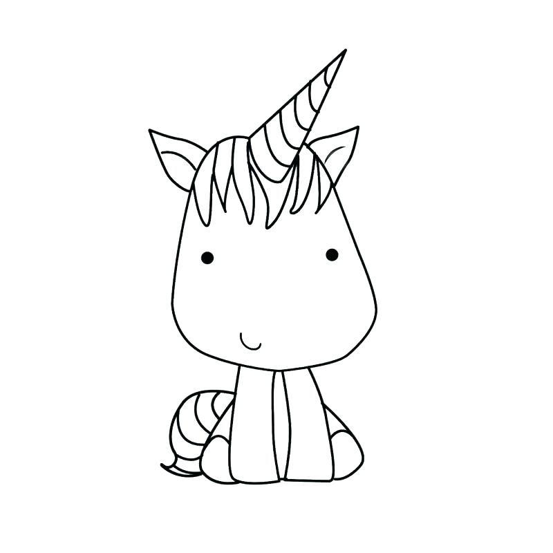 Colorear Unicornio Lovely Para Coloring Para Para Como Colorear