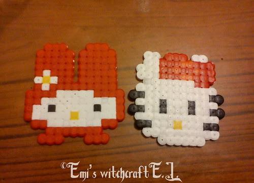 Pixel Art Hello Kitty (1)