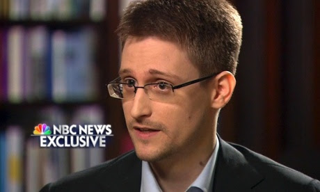 Edward Snowden on NBC.