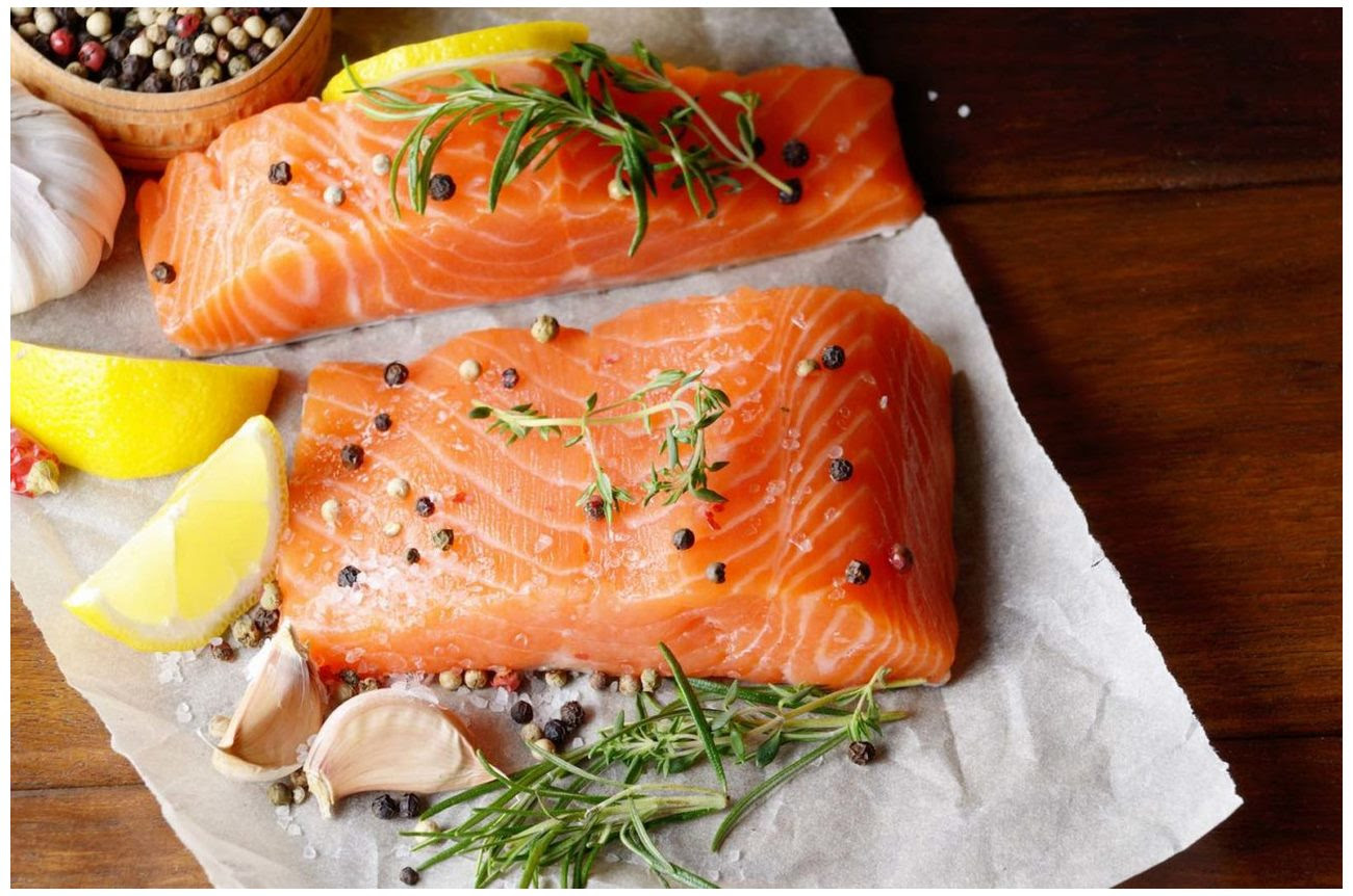 The health benefits of salmon to Improve Brain Power