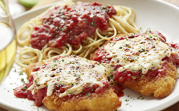 Olive Garden Chicken Parmigiana Without Pasta Facts In Out Calorie Counter Calorie Food Exercise Diary Tracker