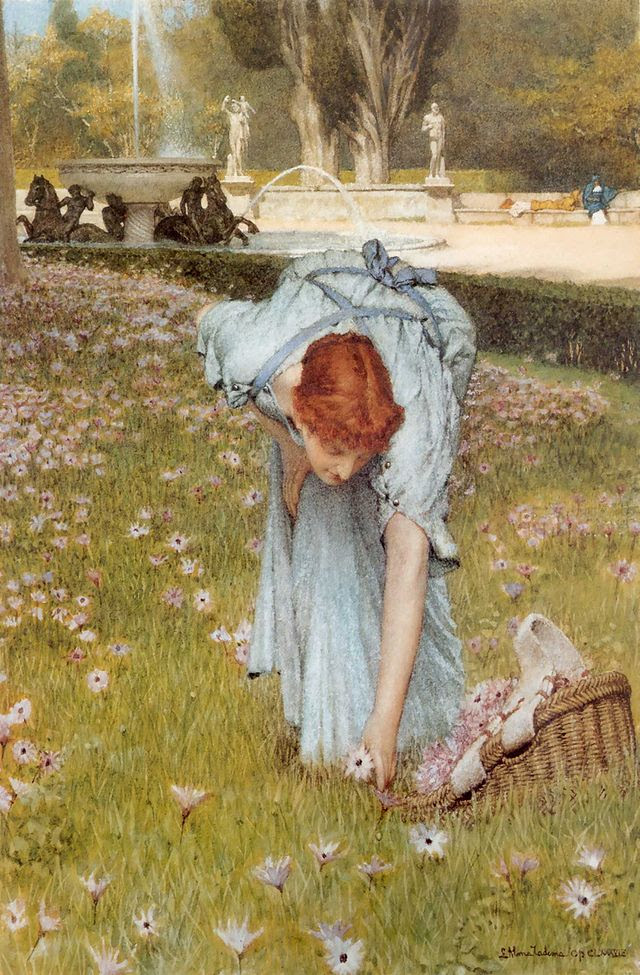 Lawrence Alma-Tadema Flora - Spring in the Gardens of the Villa Borghese.jpg