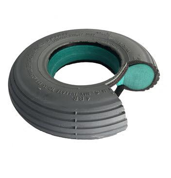 Aero-flex™ Foam Fill Wheels With Never Leak or Go Flat