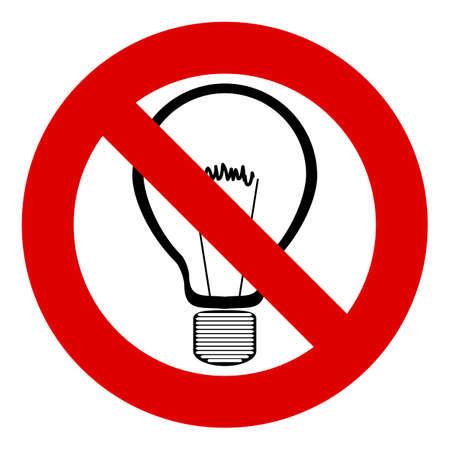 Resultado de imagem para silhueta de vetor de lâmpada elétrica sem luz