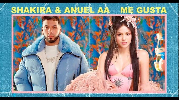 Shakira Anuel AA – Me Gusta  Lyrics