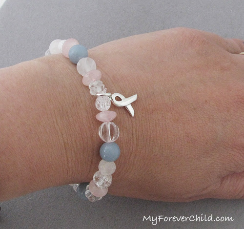 Miscarriage/Pregnancy Loss Healing Gemstone Bracelet