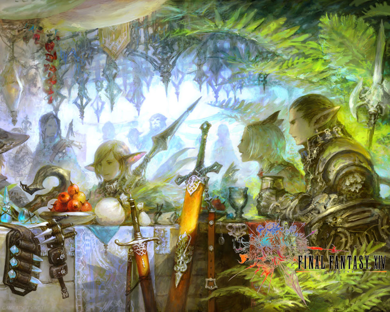 Final Fantasy Xiv A Realm Reborn New Wallpapers For Pc And Best