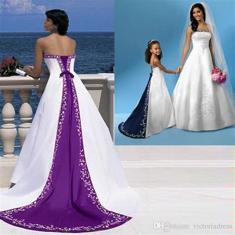 Discount Excellent Quality Elegant Purple And White