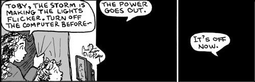 Home Spun comic strip #777