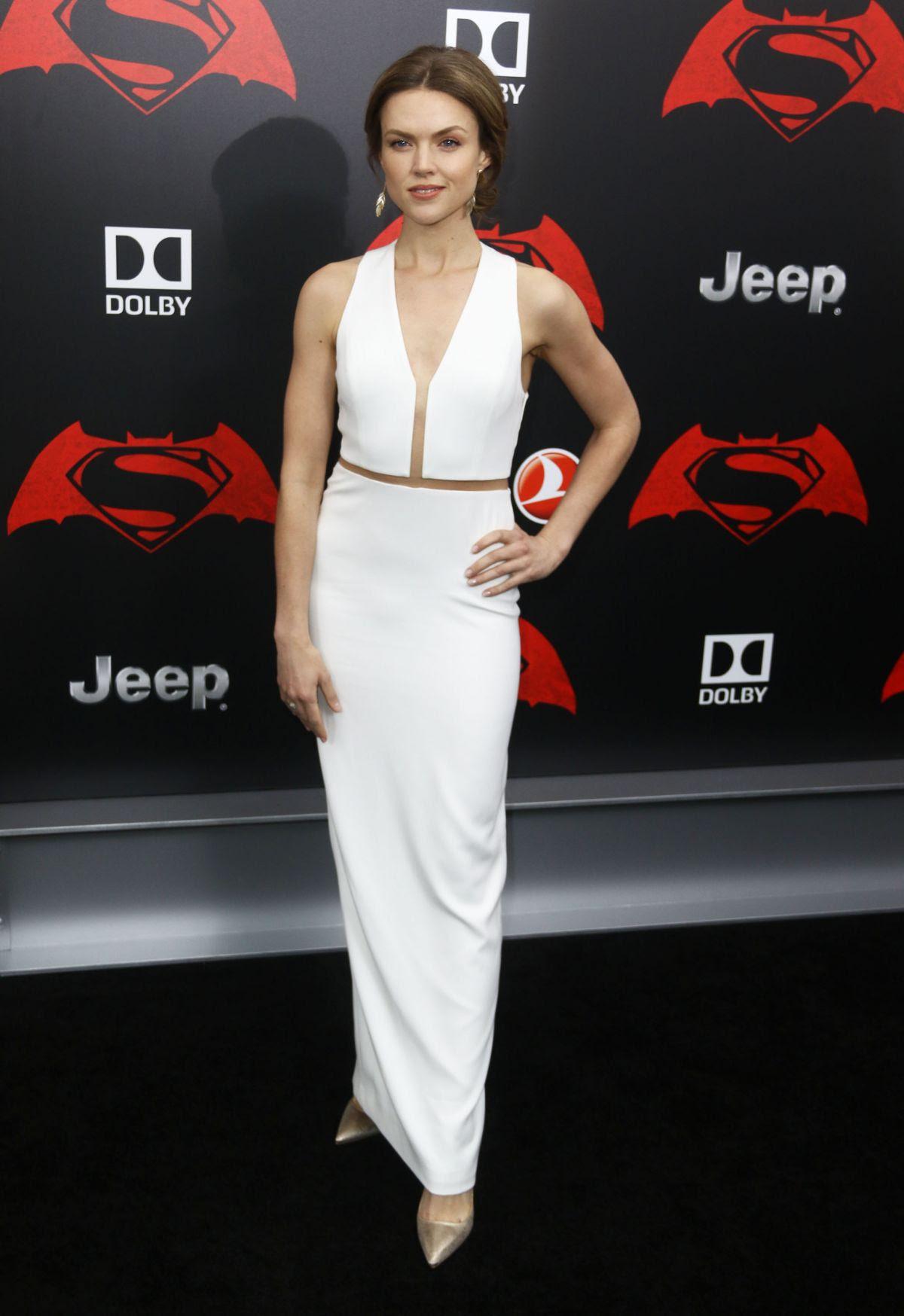 ERIN RICHARDS at 'Batman vs Superman: Dawn of Justice' Premiere in New York 03/20/2016