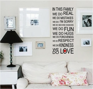 Wall Quotes, Family Sayings, Vinyl Wall Decals, Home Quotes