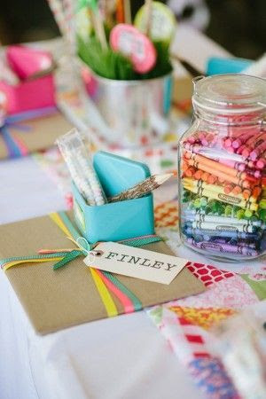Ideas on how to keep kids occupied at a wedding!