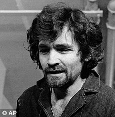 Evil: Manson in 1970 during his trial