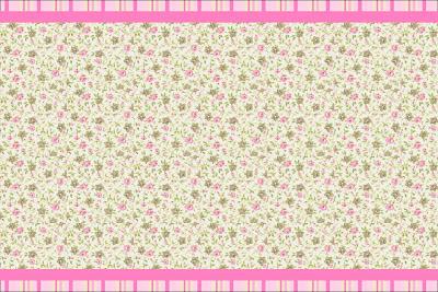 Provencal Rosa Floral Kit Completo Com Molduras Para Convites