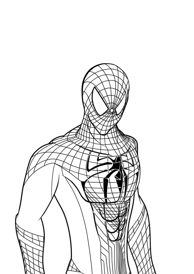 Spider Man 2 Coloring Pages At Getdrawingscom Free For Personal
